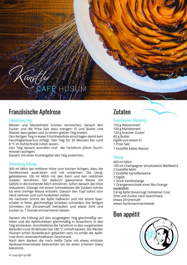 Rezept Französische Apfelrose