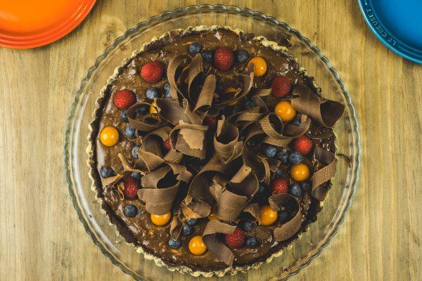 Mousse-de-Schokolade-Tarte