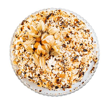 Karotten-Physalis-Kuchen
